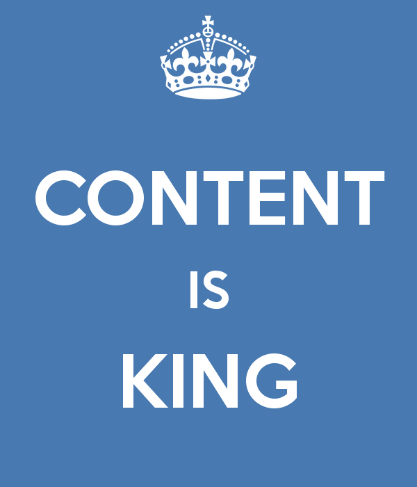 Content is King - Right Click Media